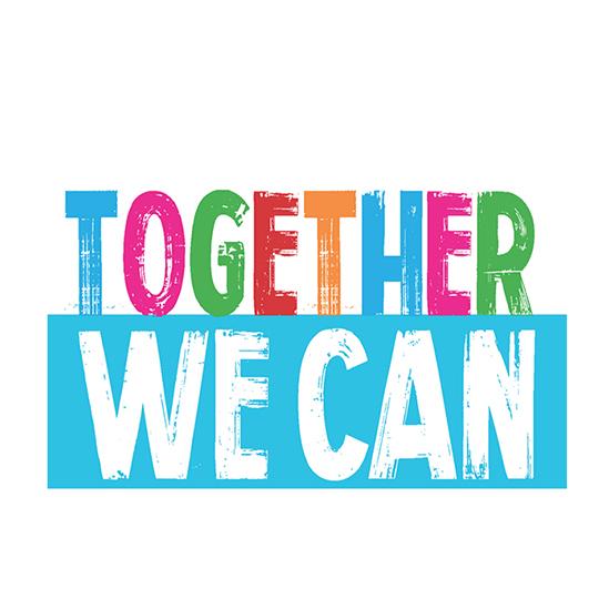 Juntos podemos, cada uno con su parte.