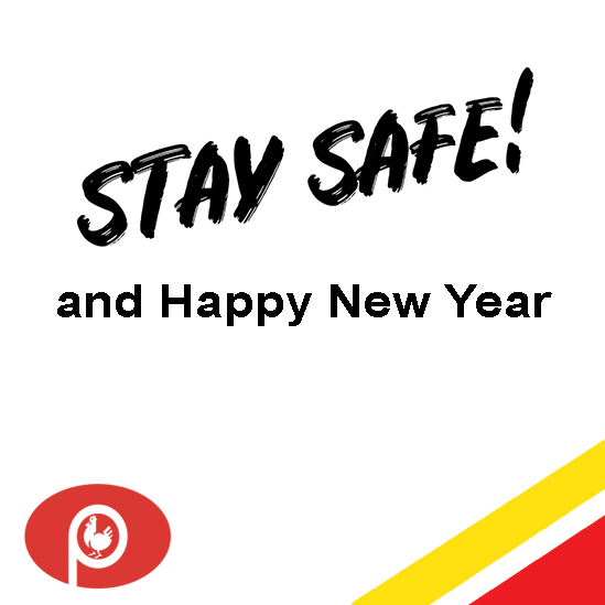 Stay safe and happy new year 2021!