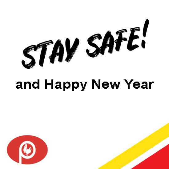 Portez-vous bien et bonne année 2021!